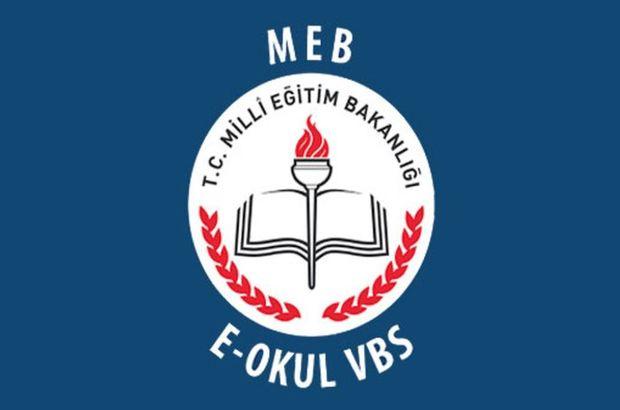 E - Okul VBS giriş ekranı