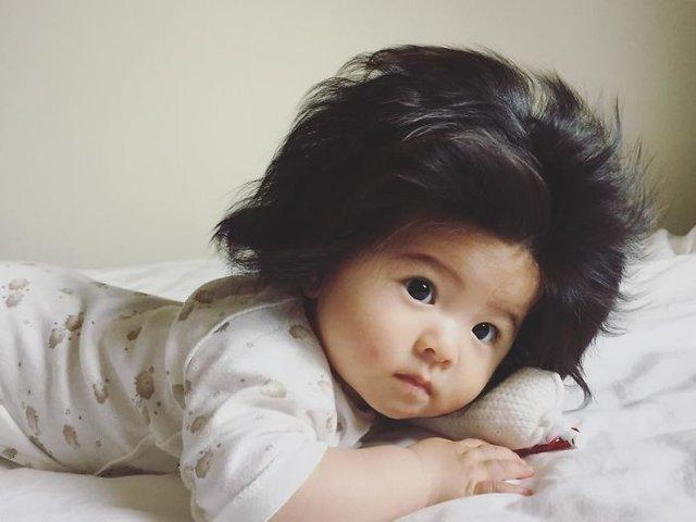 Saçlarıyla fenomen olan Chanco ailesini zengin etti!