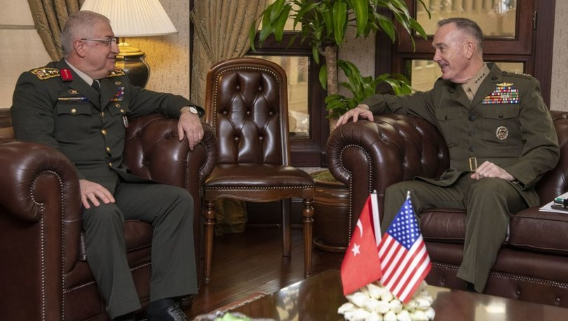 ABD Genelkurmay Başkanlığı Yaşar Güler Dunford-Güler görüşmesi