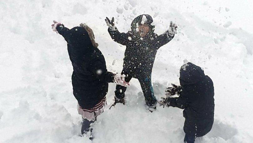 Van'da 1 ilçede eğitime kar engeli