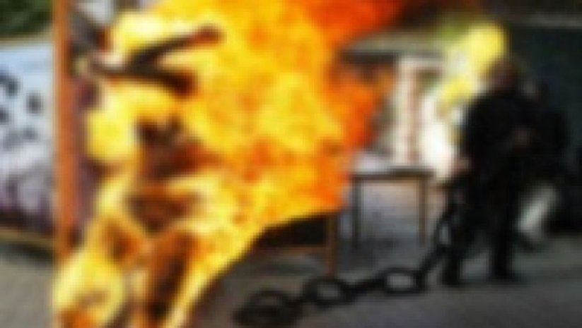 Ürdün'de Suriyeli kadın kendini yaktı