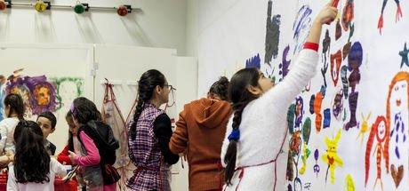 Çocukların sanatla buluşması