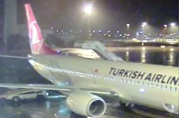 Uçak seferden çekildi