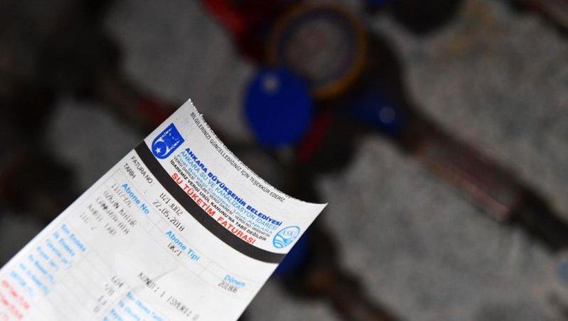 Ankara'da su faturalarına yüzde 30 indirim yapıldı
