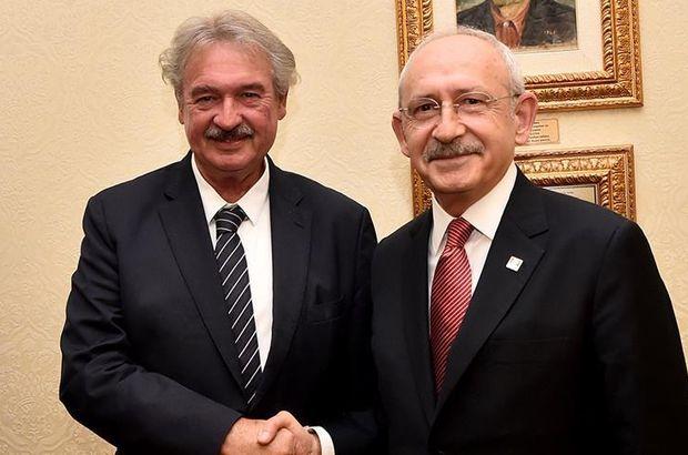 Kılıçdaroğlu, Lüksemburg Dışişleri Bakanı Asselborn ile görüştü