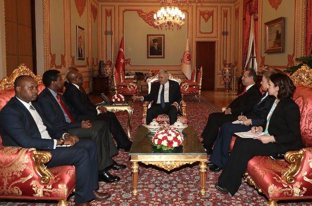 TBMM Başkanı Yıldırım, 5 ülkenin büyükelçileriyle görüştü