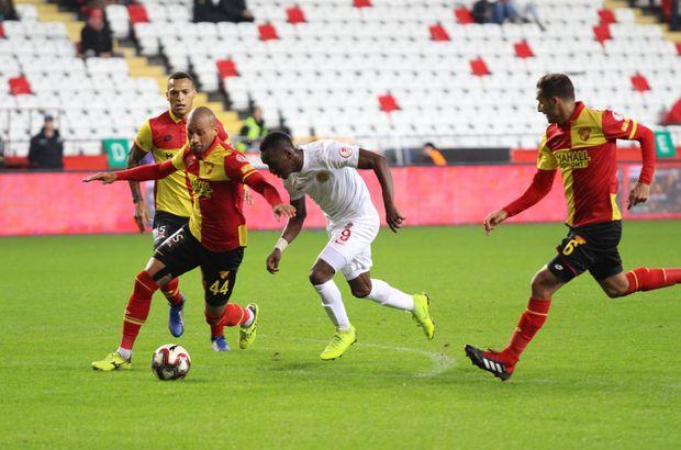 Antalyaspor ile Göztepe'nin düellosunda kazanan yok!