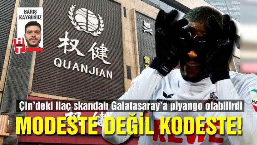 Çin'deki sağlık skandalı Galatasaray'a piyango olabilirdi!