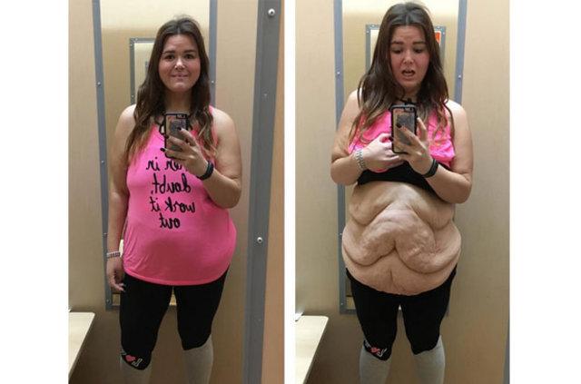 Görüntüsünden utanmadığını kanıtlamak için bu fotoğrafları paylaştı!