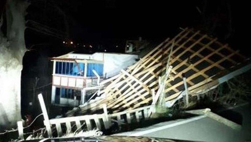 Ordu'da şiddetli fırtına! 2 ilçede okullar tatil
