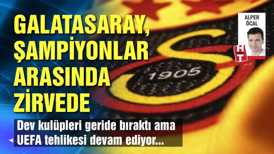 Galatasaray, şampiyonlar arasında zirvede