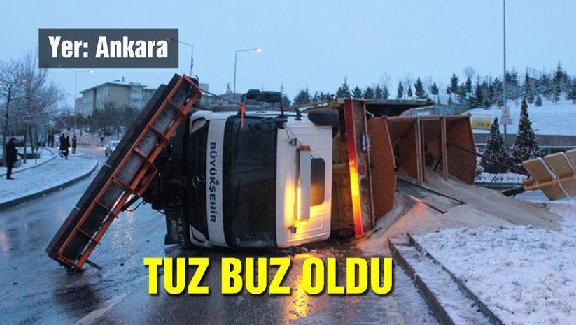 Yer: Ankara... Tuz buz oldu