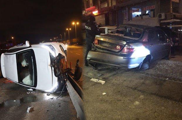 Başkent'te iki ayrı kaza, 2 yaralı