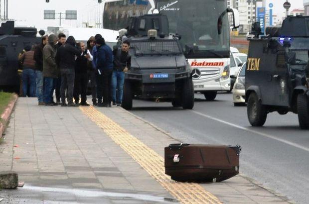 Diyarbakır'da şüpheli valiz paniği!