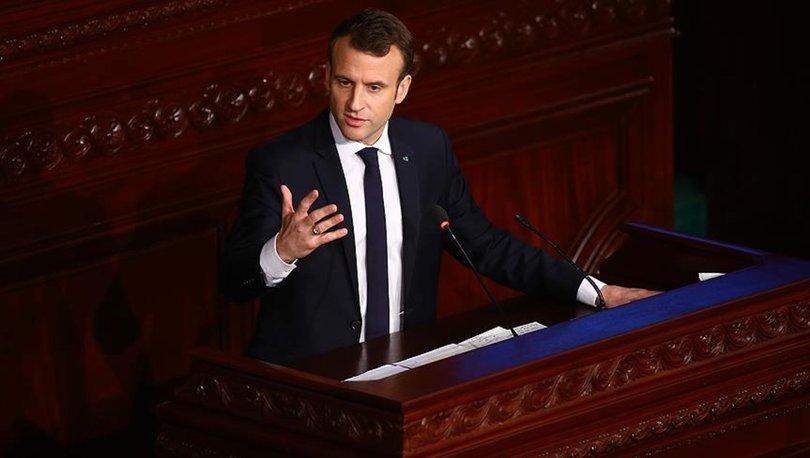 Macron'dan flaş DAEŞ ve Suriye açıklaması!