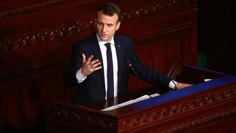 Macron'dan flaş DAEŞ ve Suriye açıklaması