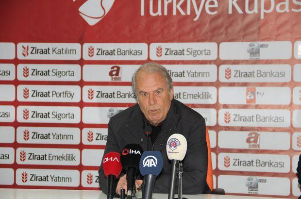 Mustafa Denizli Alanya maçını değerlendirdi