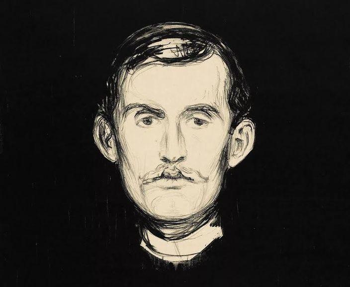 Munch'un kendi portresi
