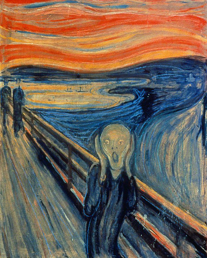 Munch'un 'Çığlık' tablosu