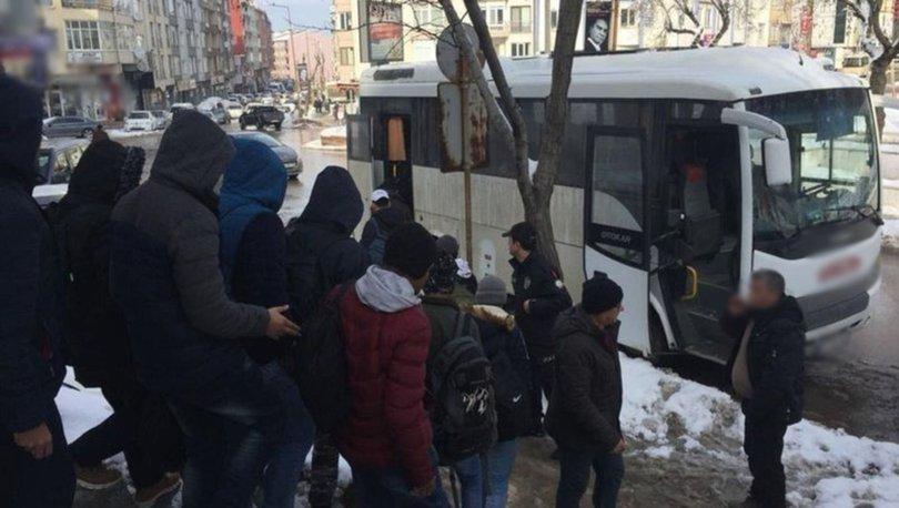 İstanbul kaçak göçmen operasyonu