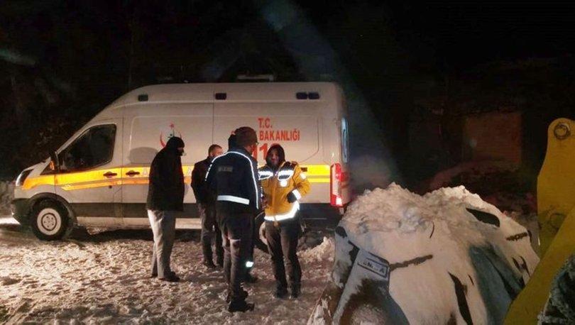 Sivas kar yağışı ambulans