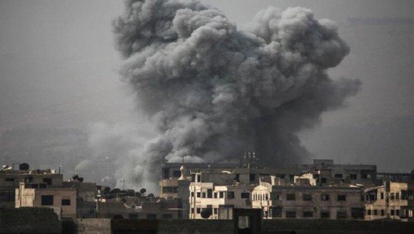 Koalisyon Deyrizor'da cami vurdu