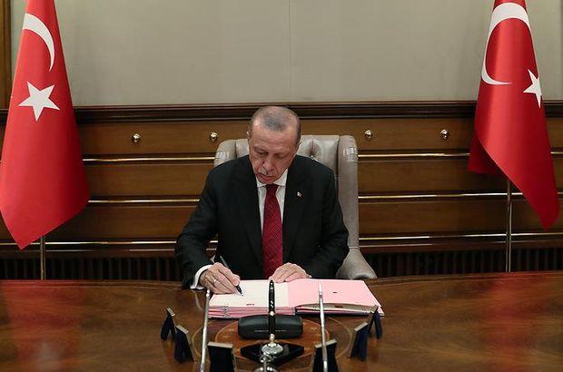 Cumhurbaşkanı Erdoğan'dan atama kararları