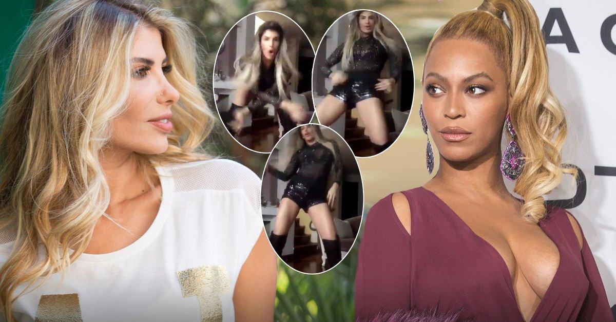 Hatice dansıyla sosyal medyayı salladı Beyonce