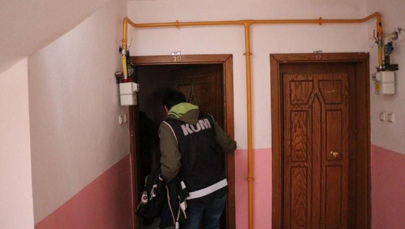 FETÖ'nün Gaybubet evlerine operasyon, 5 şüpheli tutuklandı
