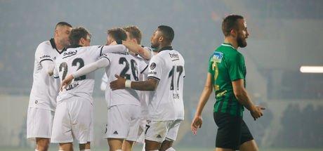 Beşiktaş, ikinci yarıya 3 puanla başladı