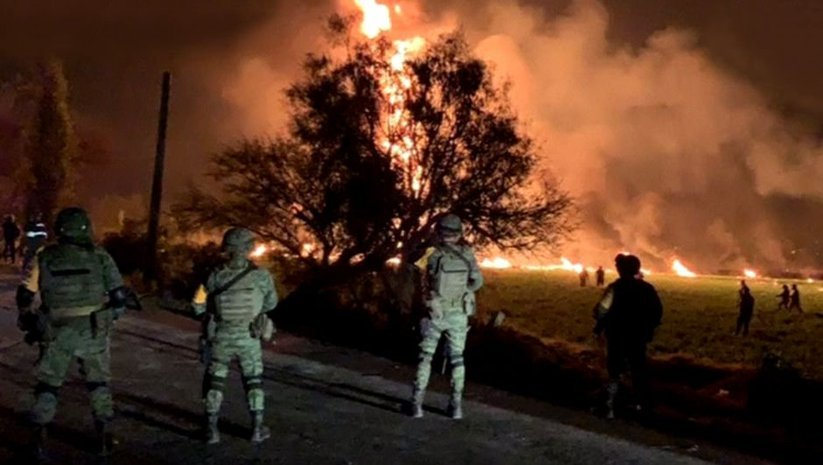Meksika'da patlama! Ölü sayısı artıyor!