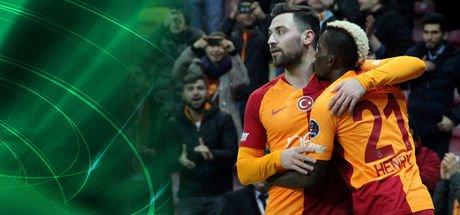 Galatasaray gol yağdırıyor!