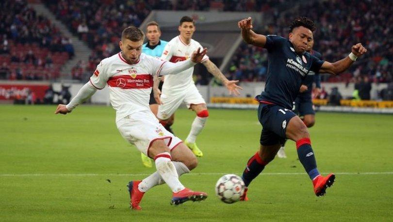 Stuttgart: 2 - Mainz: 3   MAÇ SONUCU