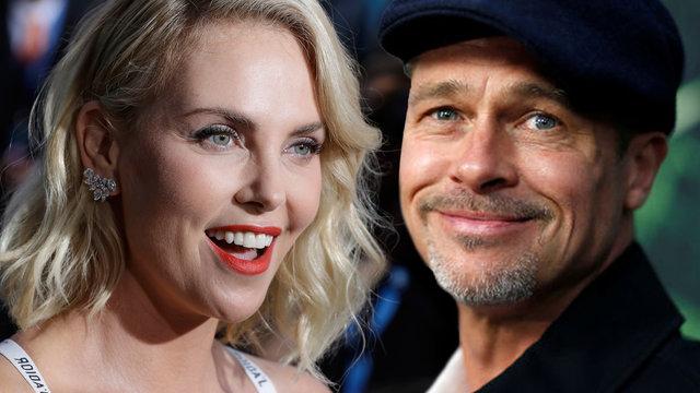 Brad Pitt ile Charlize Theron aşk mı yaşıyor? - Magazin haberleri