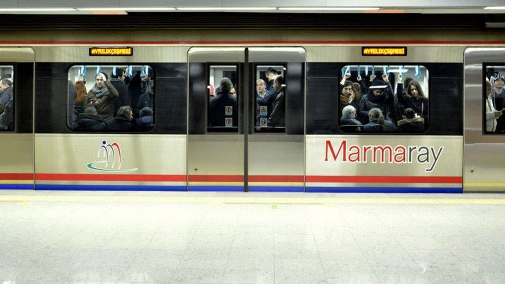 Marmaray'da o istasyon geçici olarak kapatıldı