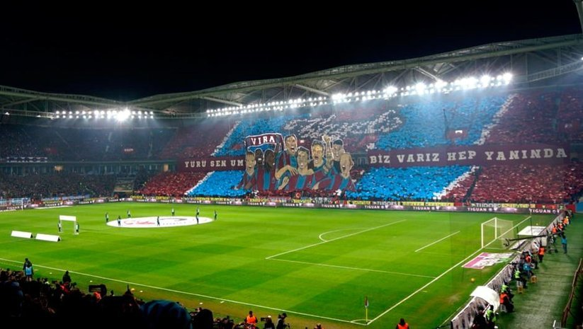 Trabzon'da görsel şov!