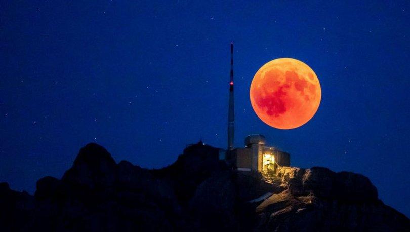 Kanlı Ay Tutulması Nedir 20 Ocak Yüzyılın En Uzun Ay Tutulması