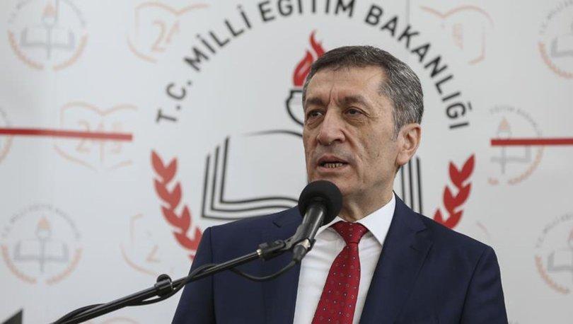 Milli Eğitim Bakanı Ziya Selçuk açıkladı! İlk defa Türkiye'de...