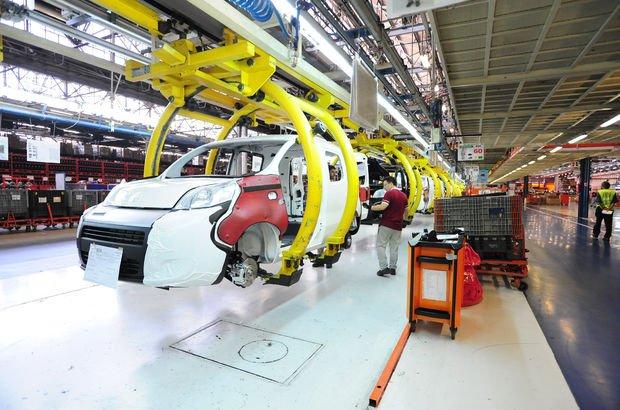 Bursa saatte 57.7 adet otomobil üretti