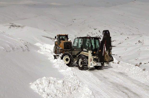 Karla mücadele ekipleri hastalar için seferber oldu