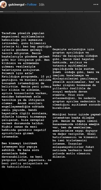 Gülçin Ergül'den Cemre Kemer'e yanıt! - Magazin haberleri