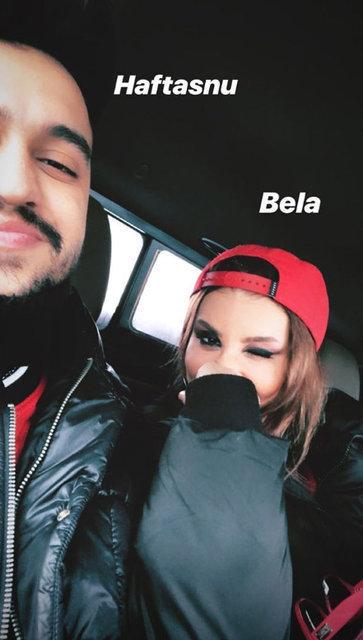 """İrem Derici ile sevgilisi Ataberk Özdene'nin """"Mathilda ve Leon"""" pozu olay oldu - Magazin haberleri"""