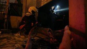 Ankara'da iş yeri yangını