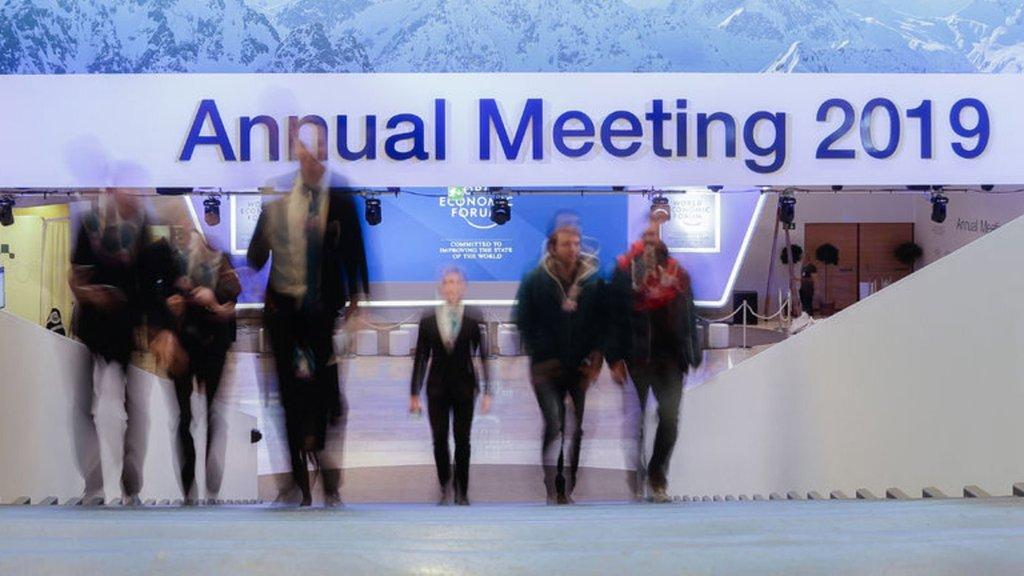 """Davos'un 2019 teması  """"Küreselleşme"""" olacak"""