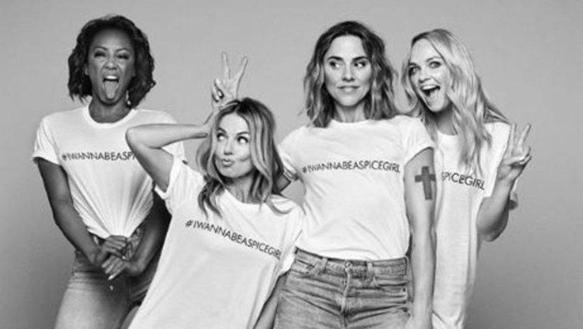 Spice Girls'ün 'tişört' ikiyüzlülüğü!