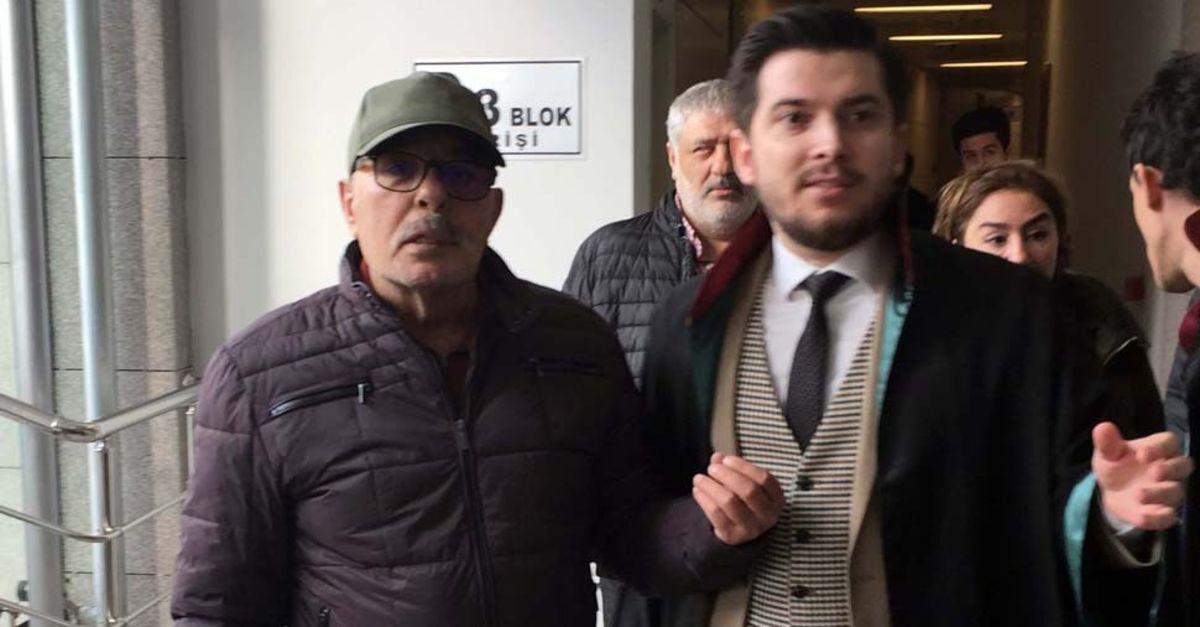 Ünlü şarkıcı Ferdi Tayfur İstanbul Adliyesi'nde