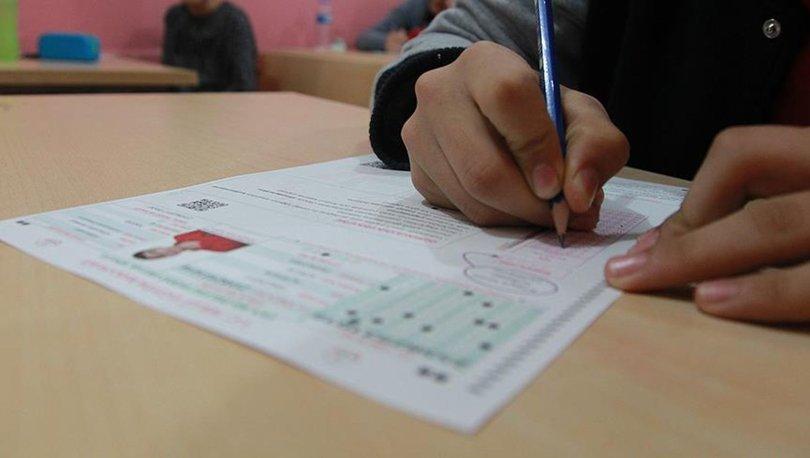 Liselere giriş sınavı