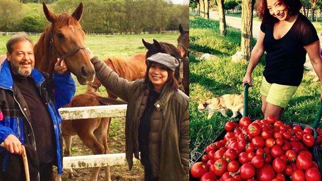 Yasemin Yalçın-İlyas İlbey çifti: Çiftliğimizde sebze yetiştirdik, çobanlık yaptık - Magazin haberleri