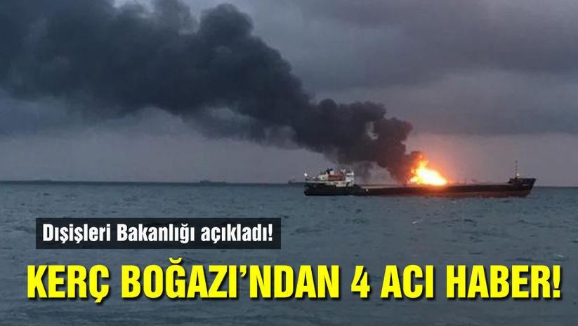 Dışişleri Bakanlığı açıkladı: 4 Türk hayatını kaybetti