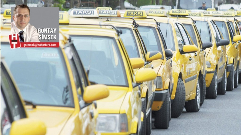 Taksi sorununa 2 aşamalı çözüm!